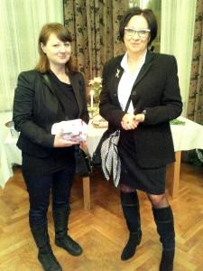 Barbara Wojciechowska i Agnieszka Bełcikowska-Bramowicz
